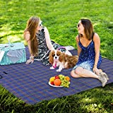 Aromdeeshopping Outdoor Home Garden Picnic Blanket Sand Beach Rug Mat Pad Waterproof Extra Large