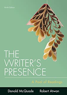 The writers presence a pool of readings donald mcquade robert the writers presence a pool of readings fandeluxe Images