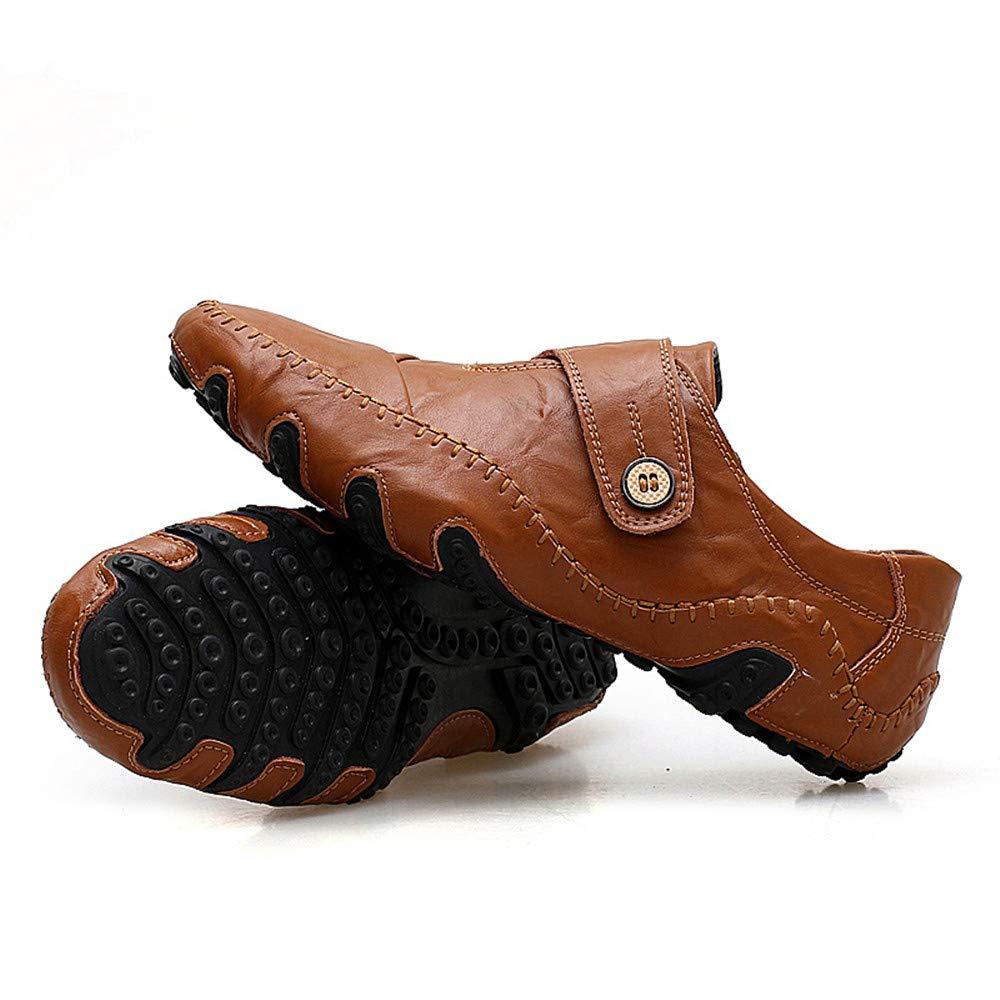 Xiaojuan-scarpe, Mocassini Casual Casual Casual Gratuito Il Nuovo Octopus Morbido Fondo Traspirante Barca Mocassini, Marrone, 9,5 UK 4d079a