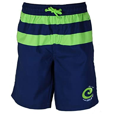 eb254c2f29 Kidz Swimmers Boys Surf Beachwear Swim Board Shorts UV Sun Protection UPF 50+  (Available in 7 Sizes and 2 Colours): Amazon.co.uk: Clothing