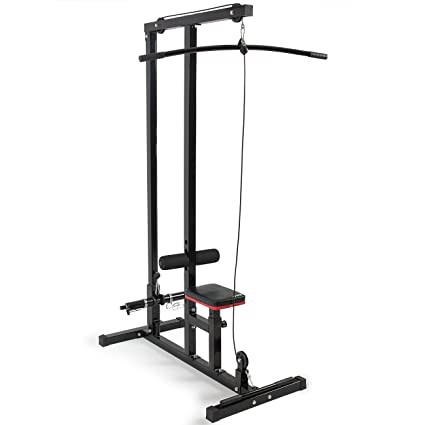 amazon com multi function pro lat pulldown machine with low row
