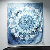 Enipate Elephant Bohemian Tapestry Colored Printed Decorative Mandala Tapestry Indian Boho Wall Carpet (15)