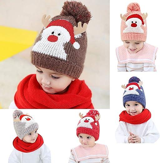 Babybekleidung Hüte & Mützen Sonnena Niedlich Weihnachtsmützen ...
