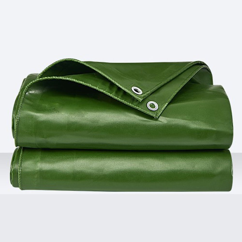 木綿の布 緑 雨布を防ぐ 雨天井の布 カバー布 油布 日を遮る布 防水布 腐食を防ぐ 自動車 断熱 老化に抵抗する 寒さを防ぐ,300 * 200Cm B07FT6H2NW 300*200cm  300*200cm
