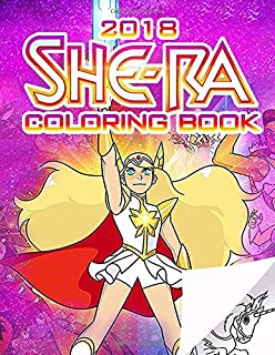 She Ra Coloring Book Princess Of Power Based On 2018 Dreamworks TV