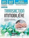 Transaction immobilière - BTS Professions immobilières, DUT immobilier, Licences professionnelles Mé