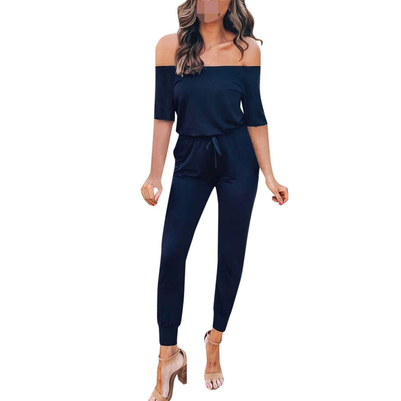 Amazon com: 2019 Summer Sexy Women Summer Backless Off Shoulder Half