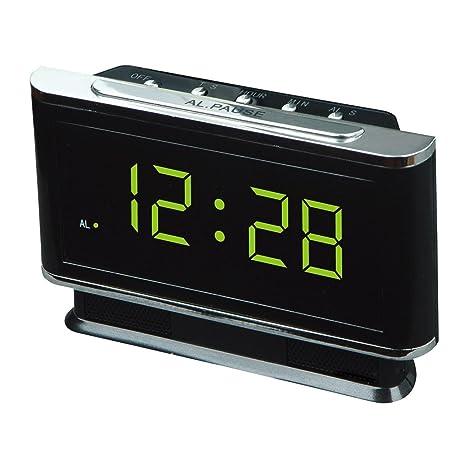 Tapón de plástico la luz de noche LED reloj digital reloj , 2