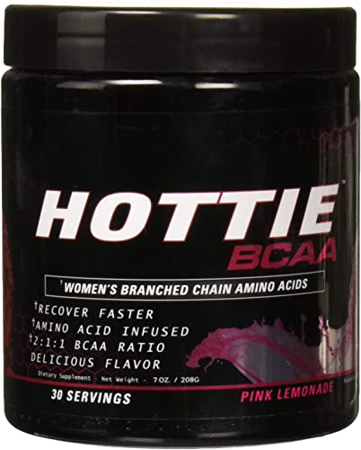 Hottie Branched Chain Amino Acid Recovery Powder, 5g of Bcaa, 30 Srvgs, Pink Lemonade