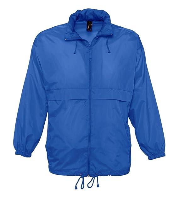 SOLS Camiseta de Surf Cortavientos para Hombre Azul Azul Real XX-Large: Amazon.es: Ropa y accesorios