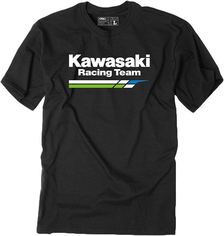 Ashirt Camiseta de Manga Corta Kawasaki Racing Team para Hombre y Mujer: Amazon.es: Ropa y accesorios
