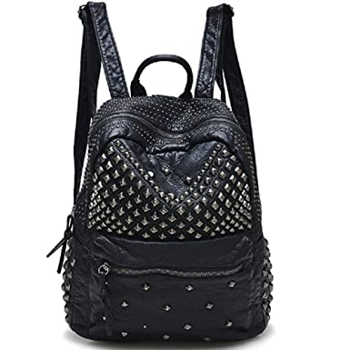 Amazon.com: Womens Studded Leather Backpack