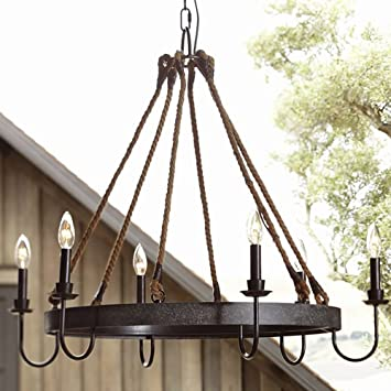 rectangle lamp chandelier retro loft light product glass store black pendant industrial iron vintage box wrought rustic
