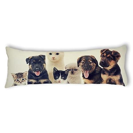 Amazon.com: ailovyo perros y gatos de satén suave embarazo ...