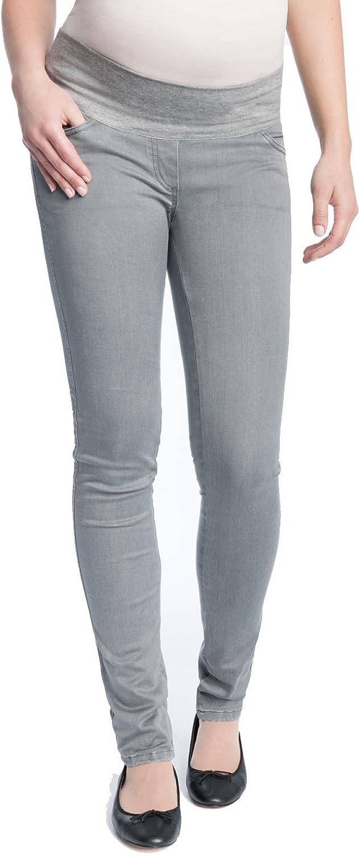 Christoff Umstands-Jeans Schlichter tiefer Bund Slim fit 100//71