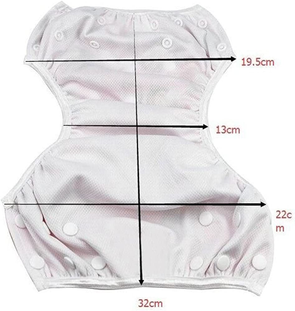 YiDing Baby Adjustable Swim Diaper Reusable Leakproof Infant Pool Pant for 0-2 Years