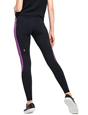 c85098a958 CRZ YOGA Women's High-Waisted Workout Leggings with Hidden Pocket  Multicoloured #1-1