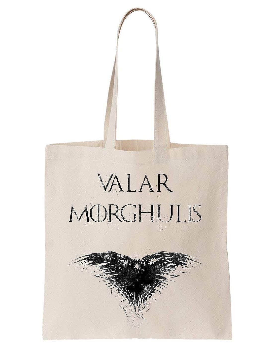 Valar Morghulis Game Of Thrones Eagle Sac En Coton ToteBag