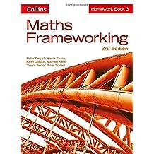Maths Frameworking -- Homework Book 3 [Third Edition]