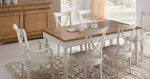dafnedesign. com – Mesa rectangular extensible de estar y comedor ...