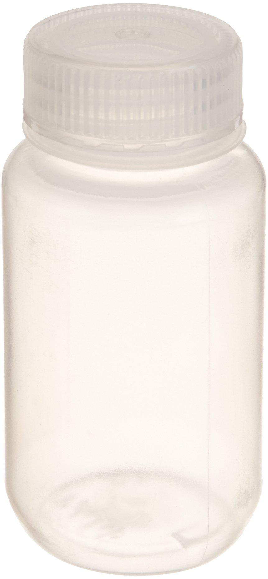United Scientific 33307 Polypropylene Wide Mouth Reagent Bottles, 125ml Capacity (Pack of 12)