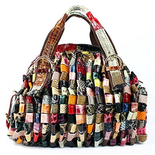 Eysee - Cartera de mano para mujer Varios colores multicolor 35cm*28cm*15cm multicolor