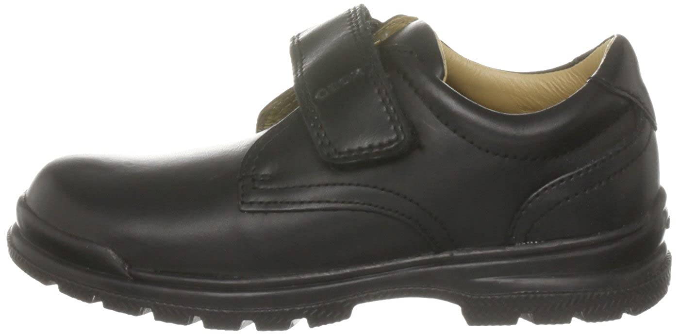 3ea98c8780051b Geox Jr William, Black, Velcro Strap Oxford: Amazon.ca: Shoes & Handbags
