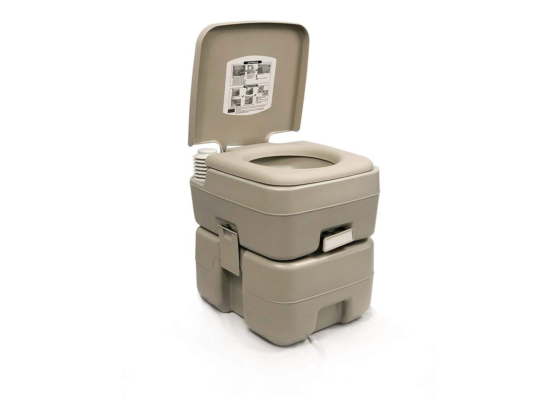 5 Gallon 20l Camping Portable Potty Toilet for Outdoor Caravan, Rv . Five Oceans