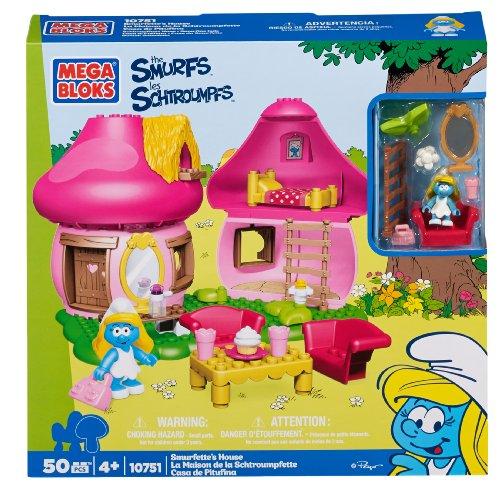 Smurf Mushroom (Mega Bloks Smurfs Papa Smurfette House)