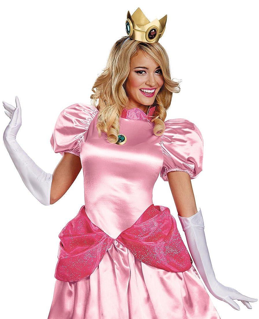 Amazon Com Mypartyshirt Princess Peach Super Mario Costume