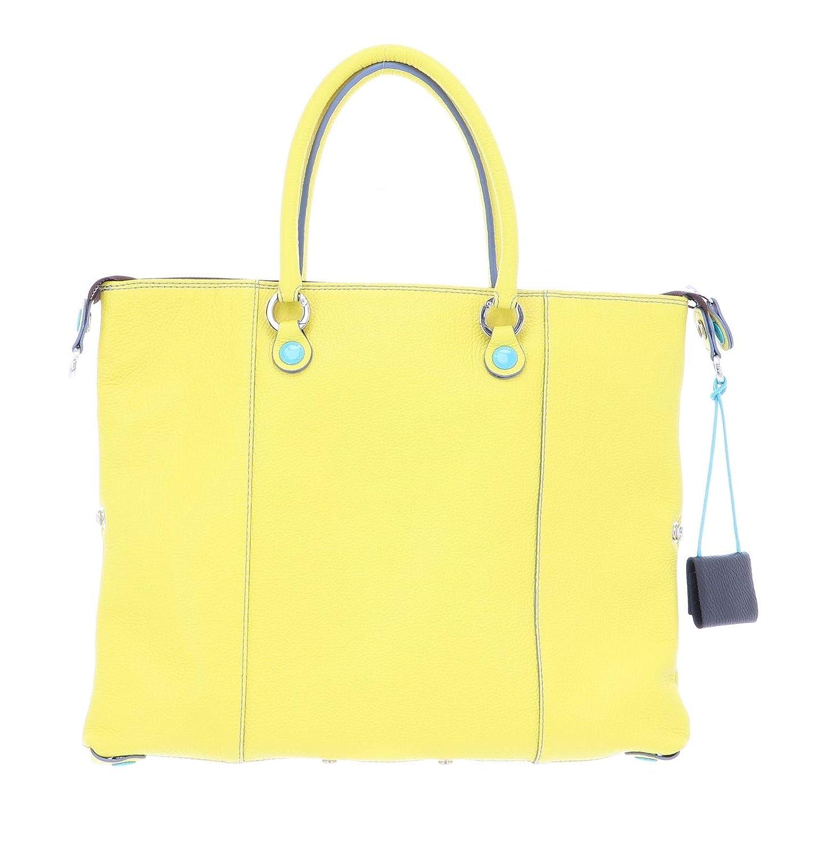 Gabs G3 Plus handväska läder 36 cm citron