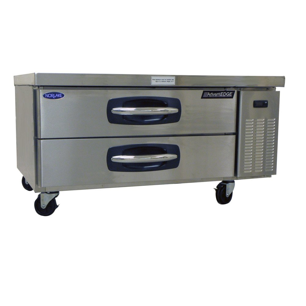 "Norlake NLCB48 AdvantEDGE 48"" Refrigerated Chef Base / Equipment Stand"