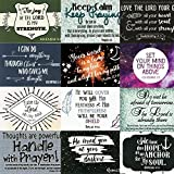 Pass It on Inspirational and Uplifting Message Cards with Scripture - Package of 24 Assorted Cards (Modern)
