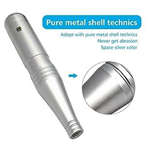 Pinkiou Permanent Makeup Pen Machine Hair Stroked Eyebrow Tattoo Professional Rotary Microblading Pen For Eyeline Lip (Machine, 10-0127) (Color: 10-0127, Tamaño: Machine)