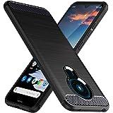 TesRank Nokia 5.3 fodral, mjukt TPU-fodral telefonfodral [kolfiberstruktur] [stötdämpning] telefonskydd för Nokia 5.3…