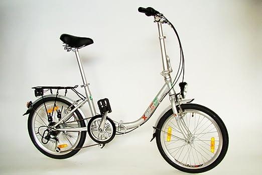 konfigurator Germ anxia móvil Master C 6 g Premium Bicicleta plegable 20 pulgadas Comfort Después de STVZO, negro: Amazon.es: Deportes y aire libre