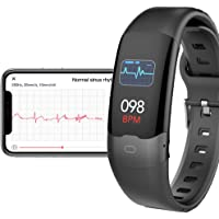 AUPALLA Activity Tracker with ECG Monitor Measure Pulse Oxygen Saturation SpO2 Blood Pressure Heart Rate HRV Sleep…