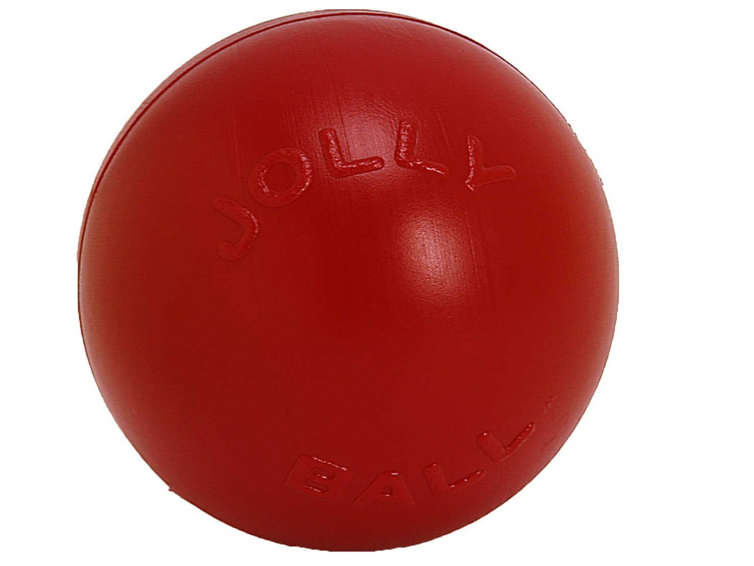 Jolly Pets 10-Inch Push-n-Play, Red by Jolly Pets (Image #1)