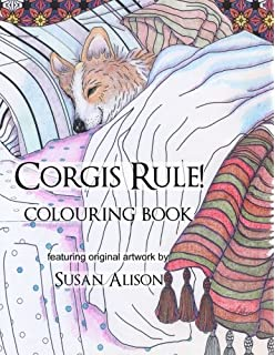 Amazon Com Corgi Coloring Adventures With Scamp 9781539713814