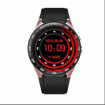 Schrittzähler Reloj Smart Reloj hombre iOS Smart Watch ...