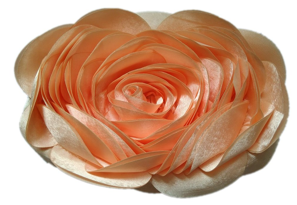 Bywen Womens Rose Pattern Purse Party Clutch Shoulder Bags Peach