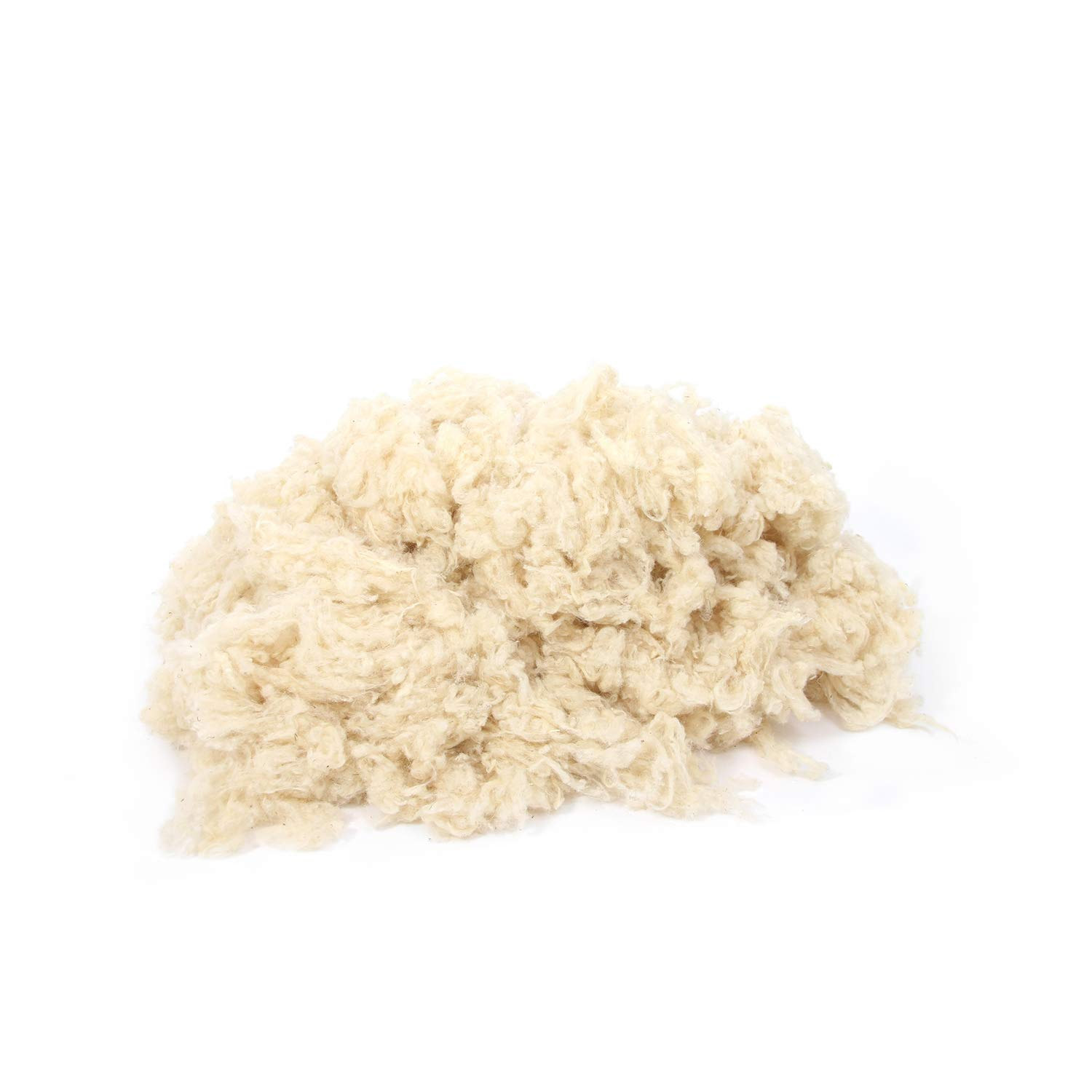 100% Natural Wool/Scoured & Washed/Oeko-TEX Certified (6 pounds (2.7 kg))