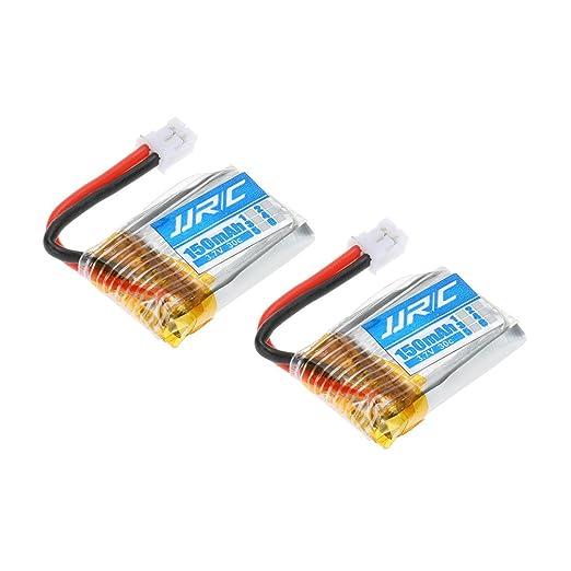 Goolsky JJRC H36-004 Batería Lipo 3.7V 150mAh 30C para JJRC H36 RC ...