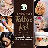 DIY Temporary Tattoo Art: Easy Step-by-Step Instructions for Watercolor
