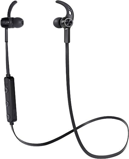 Aukey, cuffie Bluetooth 4.2, auricolari wireless magnetiche con microfono integrato per iPhone, Samsung, e altro