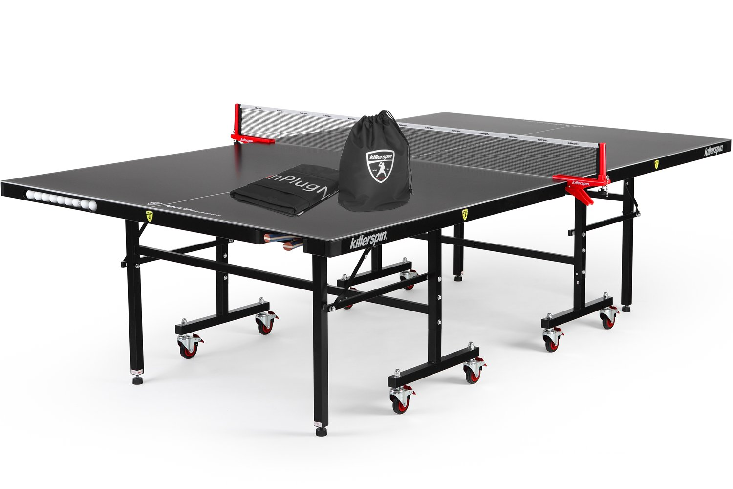 Amazon.com : Butterfly Octet 25 Rollaway Table Tennis Table : Ping ...