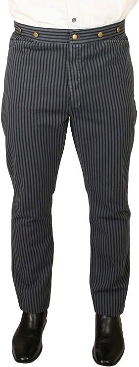 Historical Emporium Men's High Waist Henderson 1920s Trousers