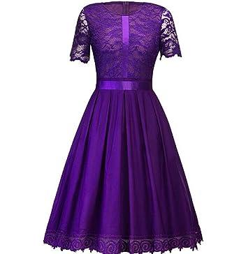 Frauen-Blumenspitze-Kleid 1/2 Hülsen-Cocktailkleid plus Größen-Kleid ...