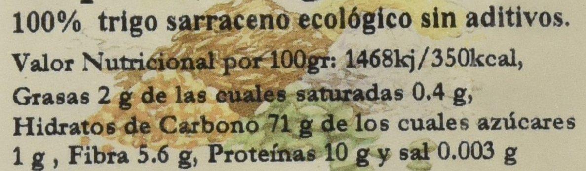 Bionsan Copos de Trigo Sarraceno Ecológico sin Aditivos | 6 ...