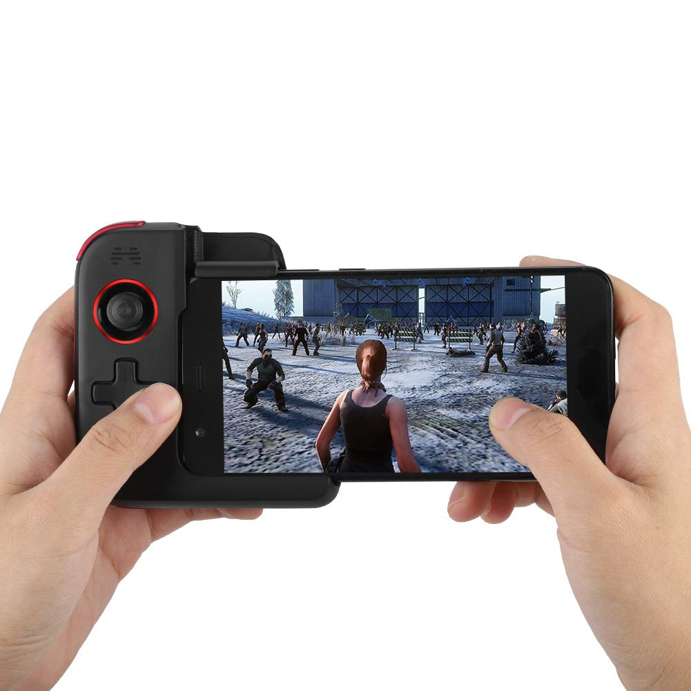 Bewinner Mobile Game Controller, High Sensitivity Wireless Game Handle Portable Bluetooth Gamepad with Touch Screen for Huawei EMUI9.0 Mobile Phone,Great Gift for Friends by Bewinner